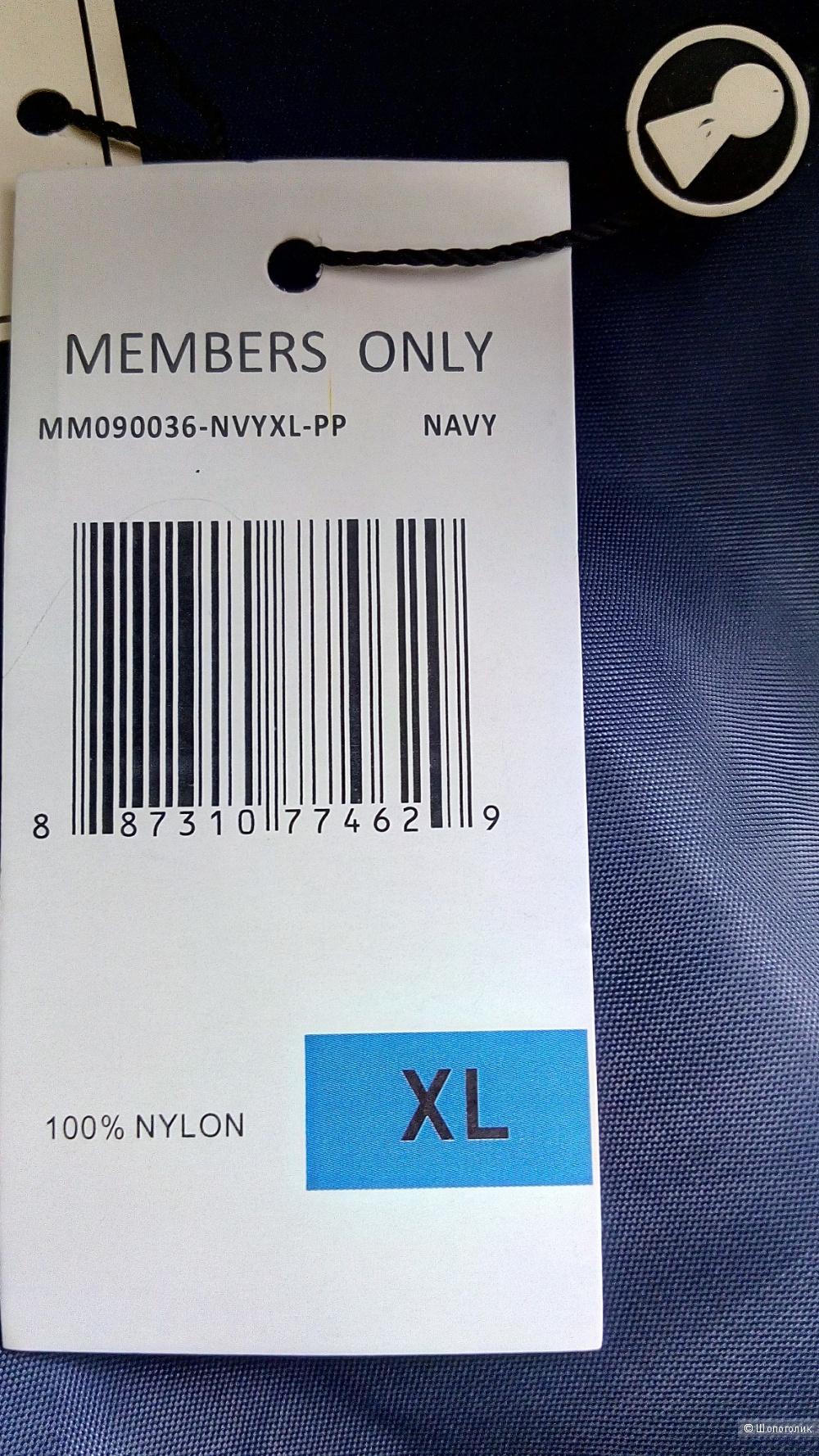 Куртка-бомбер Members Only, размер XL