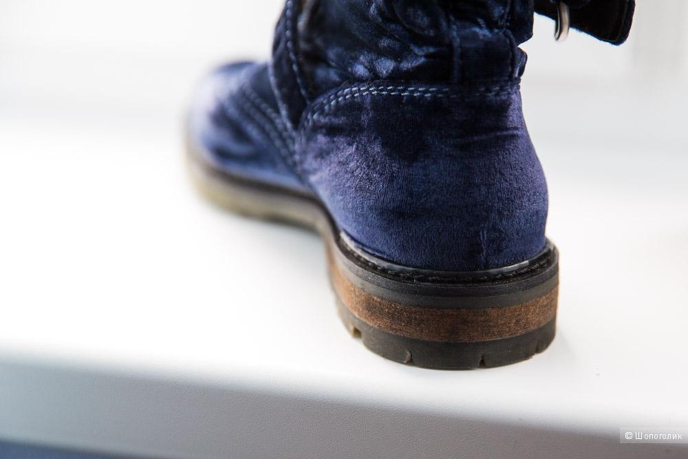 Ботинки бархатные ASOS размер 40 41