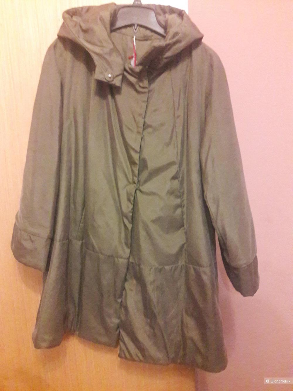 Шелковая куртка Cocoon на синтепоне размер L