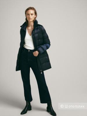 Стеганая куртка с поясом  Massimo Dutti S 42-44