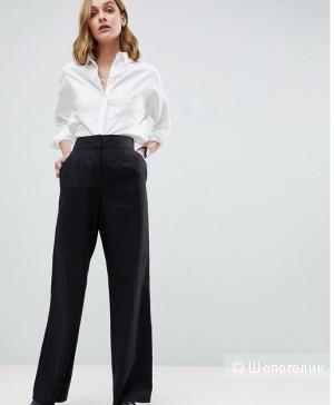 Льняные брюки палаццо бренда NEXT, размер L