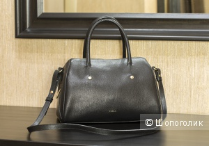 Сумка женская satchel - Furla Alissa Bauletto, medium.