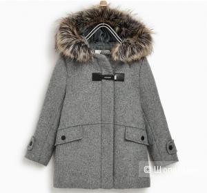 Пальто-анорак, размер 8