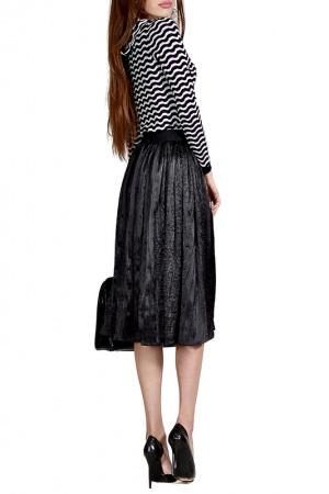 Плиссированная юбка Francesca Lucini Collezioni, размер M-XL, 46-50