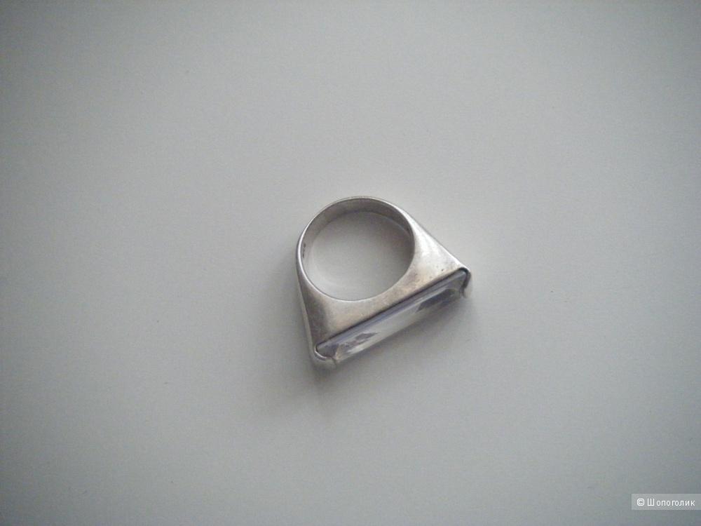 Кольцо серебро, р. 16.5