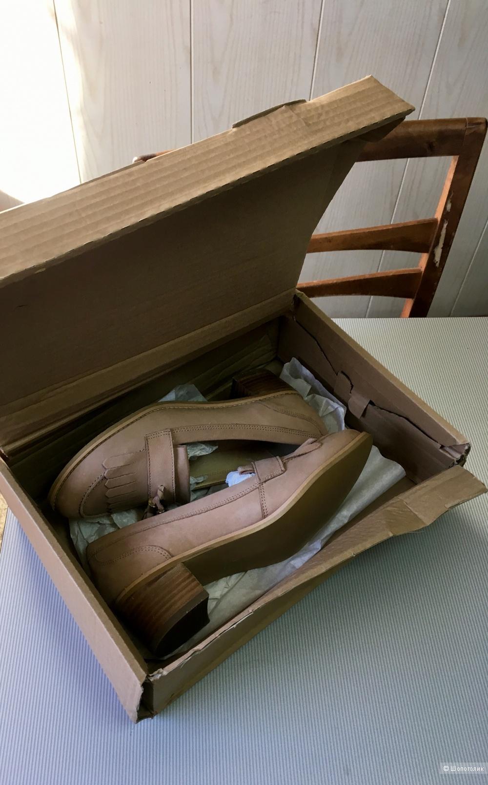 Кожаные лоферы Kurt Geiger, 39 размер