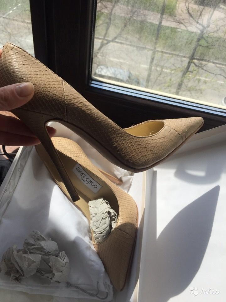 Туфли Jimmy Choo, маркировка 36.5