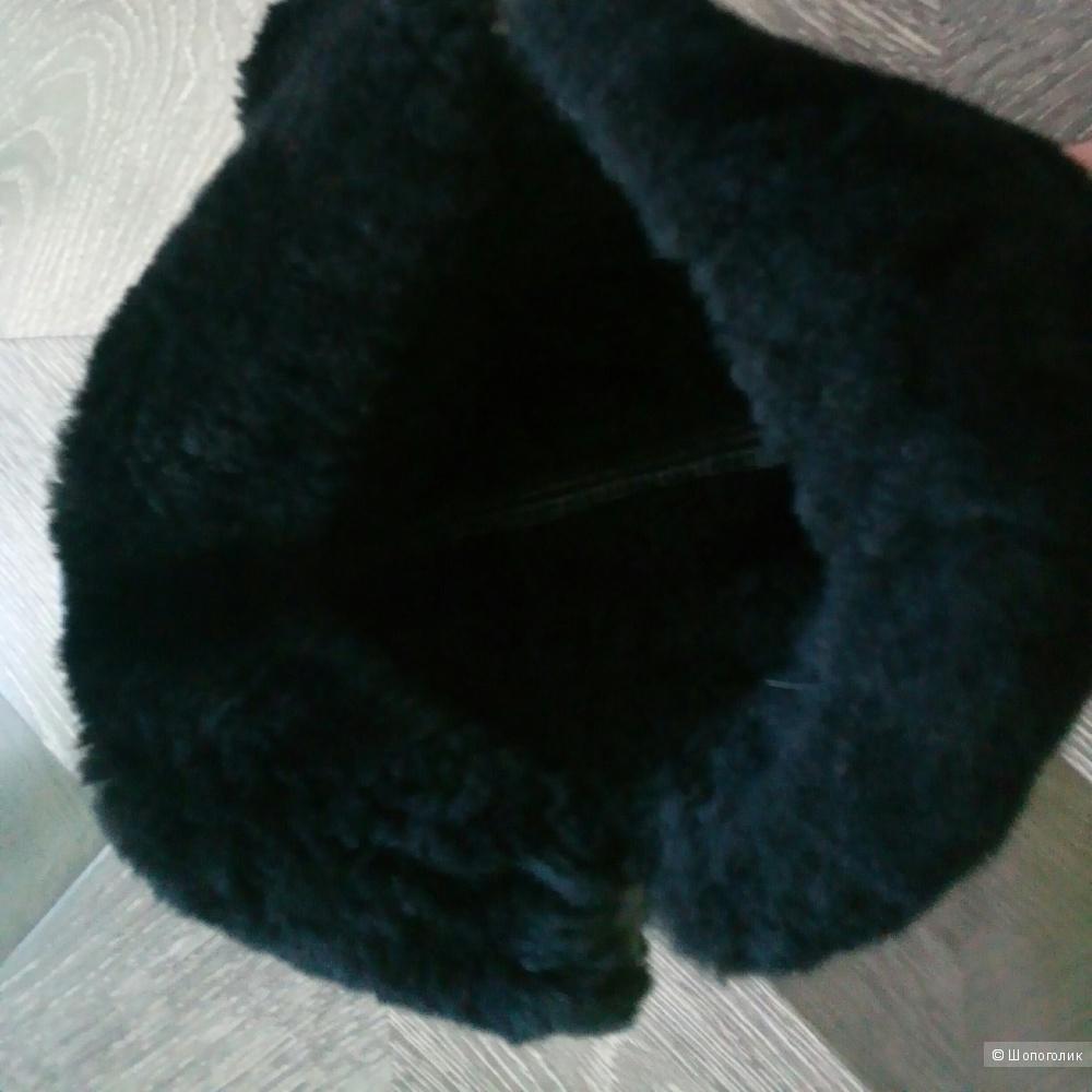 Шапка -ушанка no name, one size.