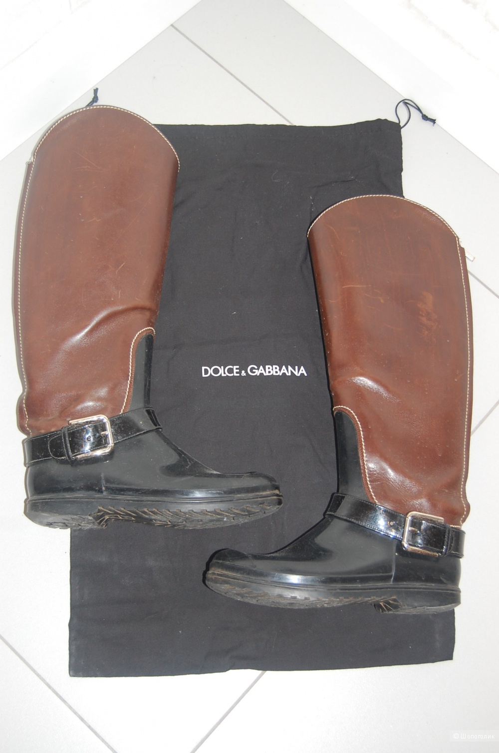 Резиновые сапоги Dolce&Gabbana р.35,5