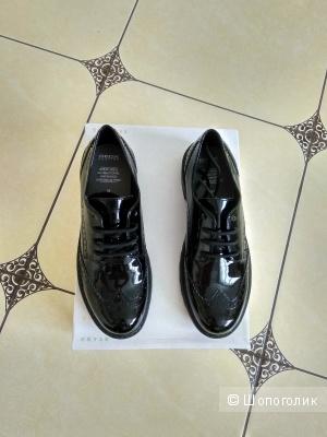 Туфли броги Geox 36-37 размер