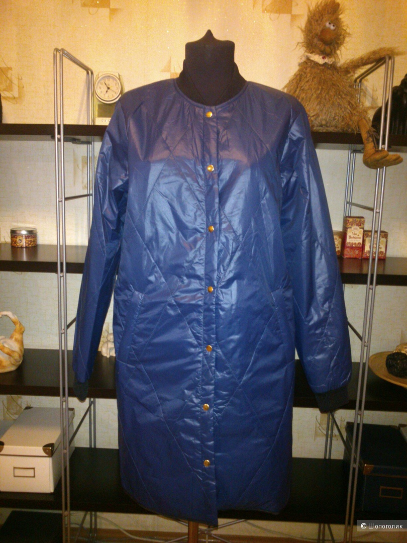 Удлиненная стеганая куртка-бомбер Minimum. Размер: 36 (на 42-44).