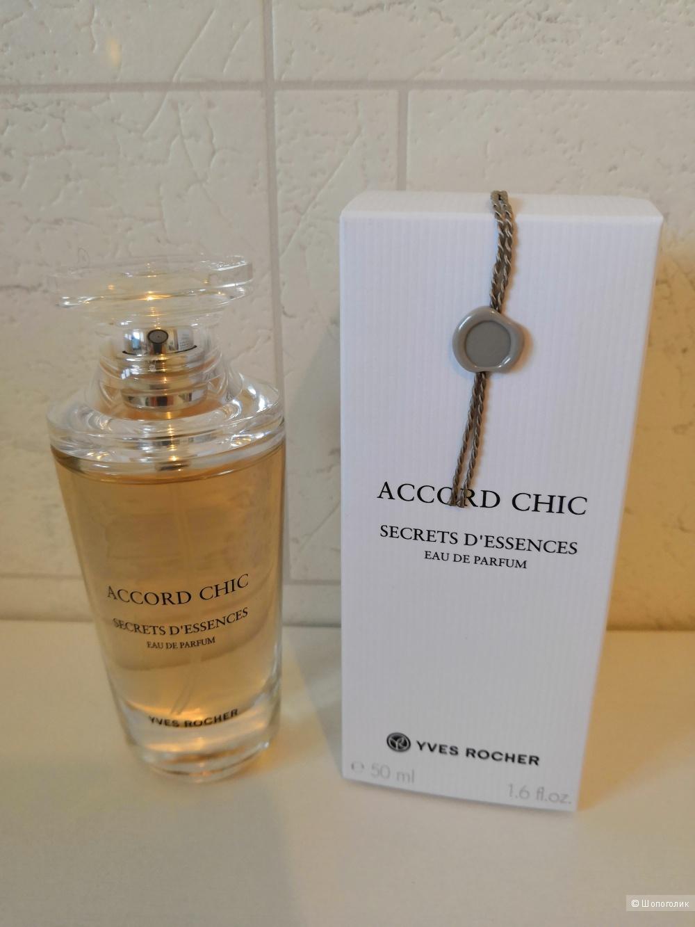 Парфюмерная вода Accord Chic Yves Rocher 50 мл