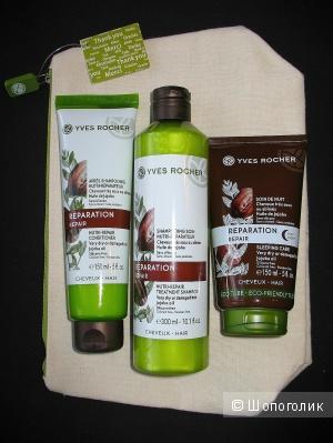 Набор для восстановления волос от Yves Rocher