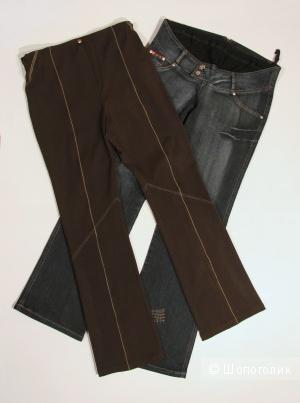Сет для беременных: джинсы HUA&FA и брюки GEMKO размер 44-46-48(М/L)