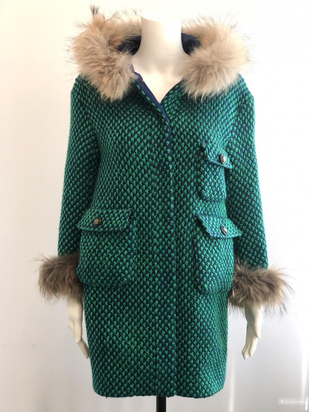 Шерстяное пальто Style Track, размер S