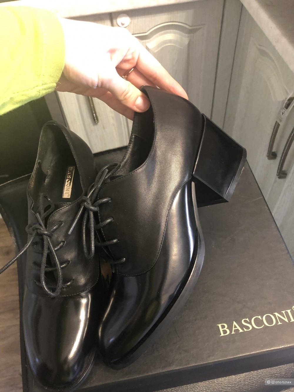 Туфли, Basconi, 38,5-39 р