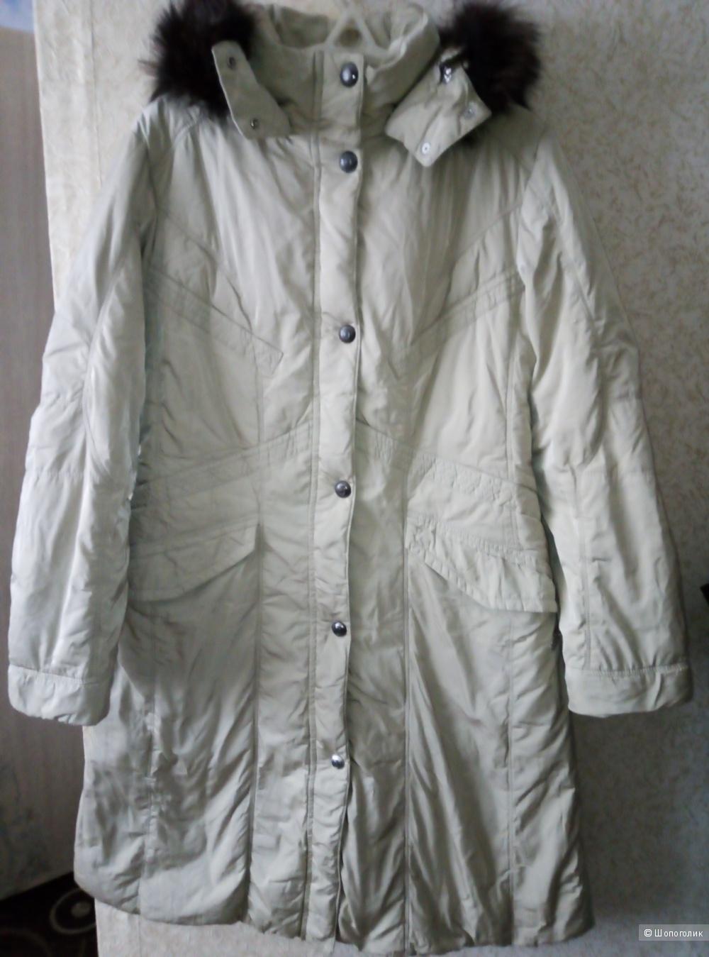 Пальто-пуховик. Cby. Р-р 48.
