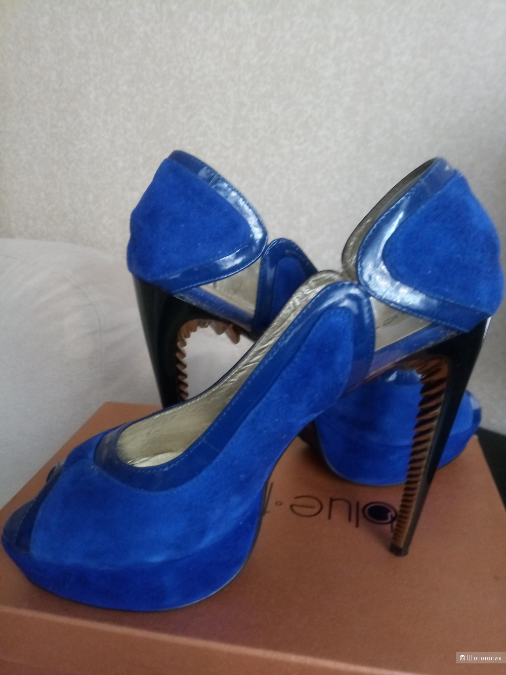 Туфли Blue tempt 39  размер.