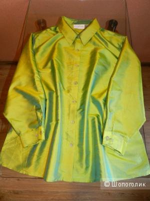Блузка рубашка Silk Lore by Beth Terell XXL +
