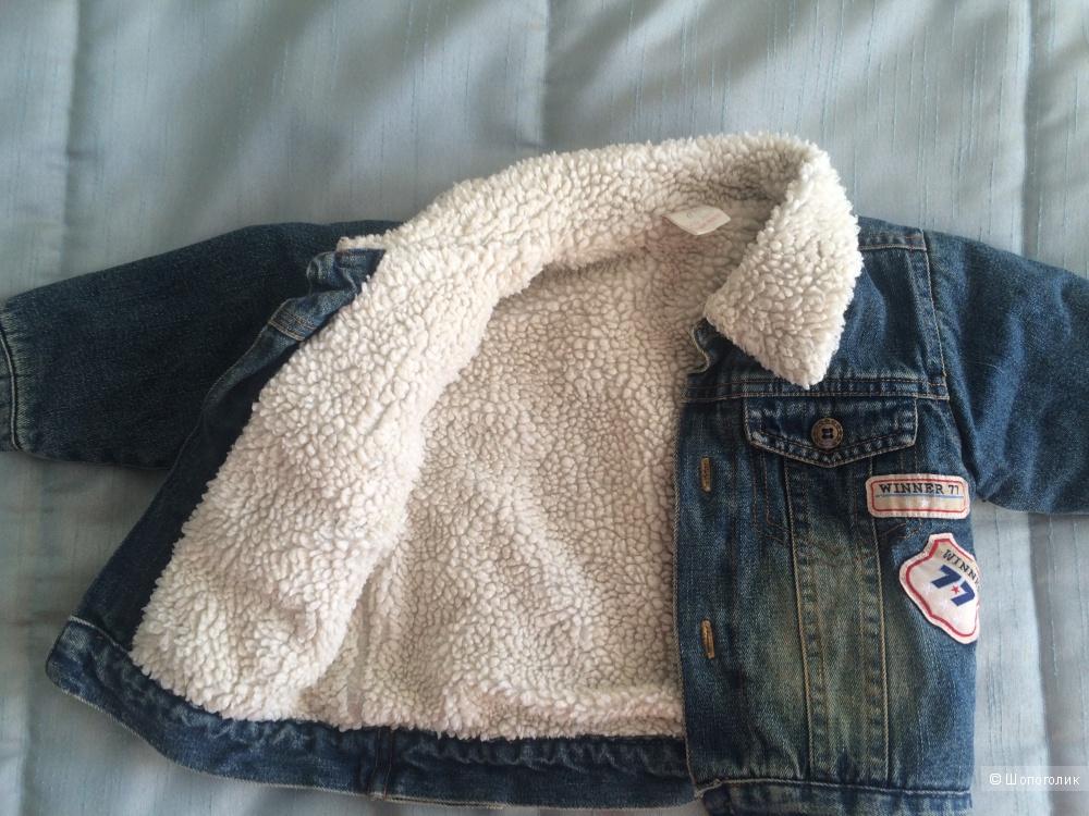 Джинсовая курточка, No name, 12-18 месяцев