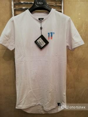"""Удлинённая облегающая футболка """"11 градусов"""". Англия"""