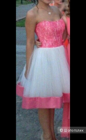 Красивое коктейльное платье, размер 42-44