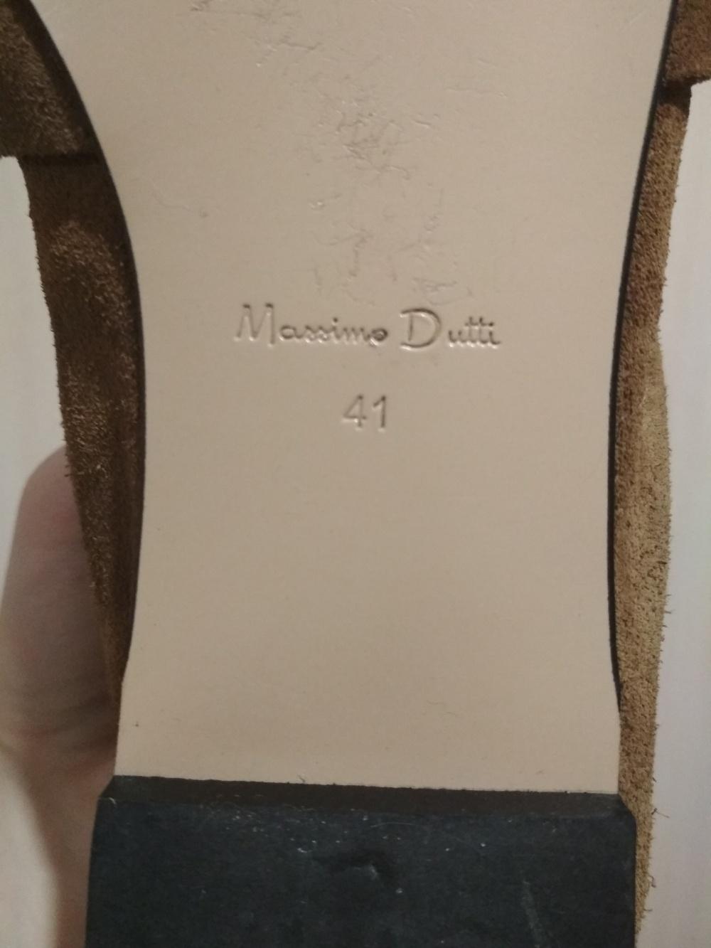Мокасины Massimo Dutti 41