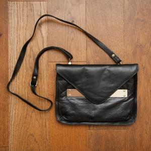 Кожаная сумка-клатч Oasis