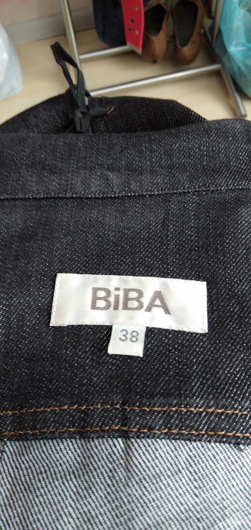 Джинсовый пиджак Biba , размер 38