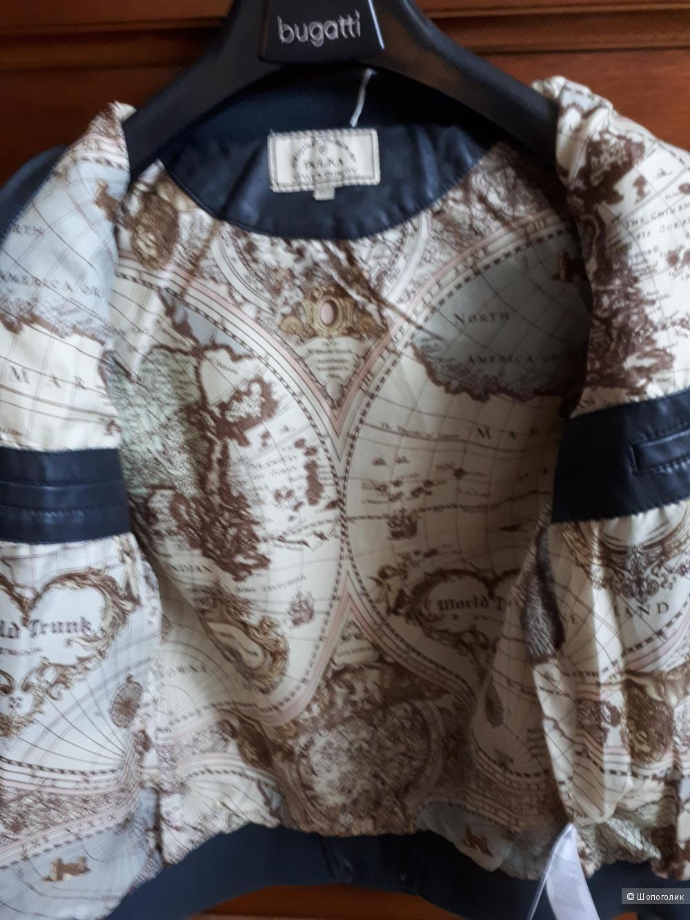 Куртка - бомбер Pulka. Оригинал. р-р 152