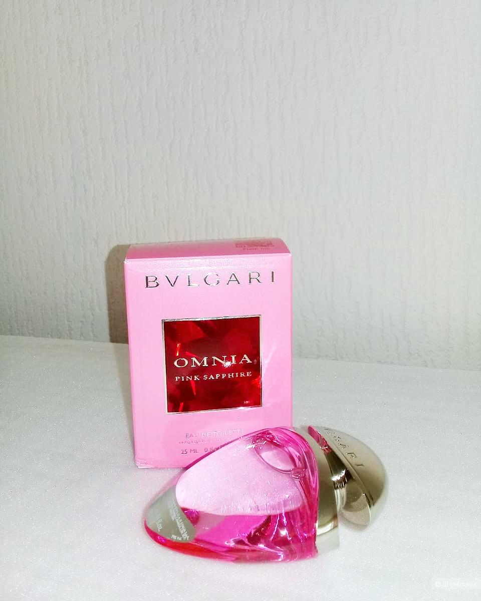 Туалетная вода Bvlgary Omnia  pink sapphire  25 мл