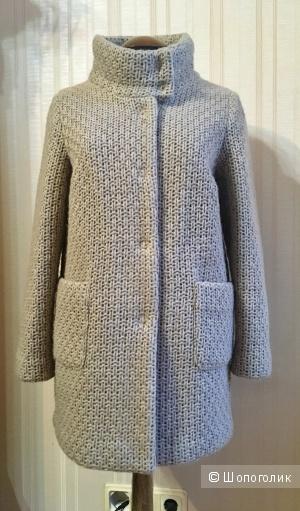 Вязаное пальто итальянской Superior, 40-42