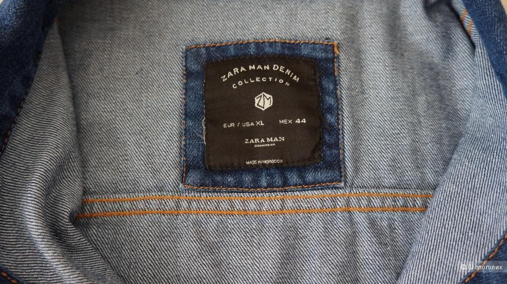 Джинсовая куртка Zara, размер XL