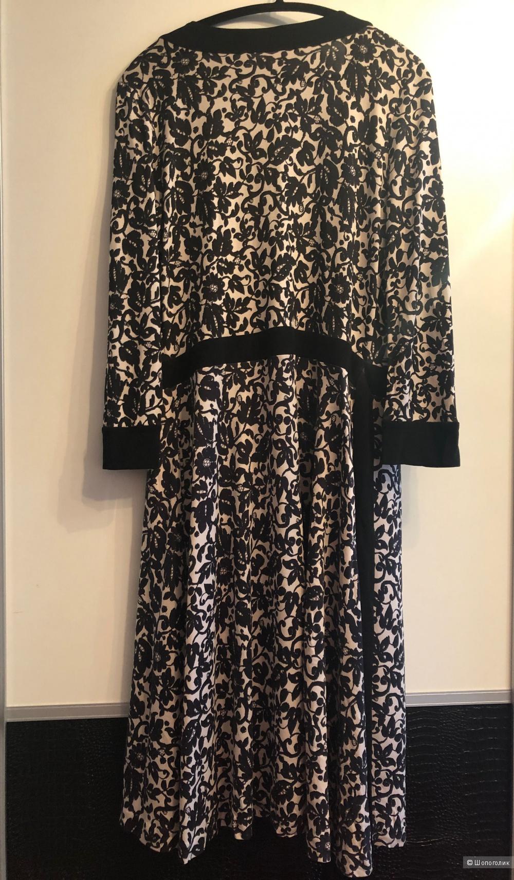 Шелковое платье Diane von Furstenberg UK12 рус 46