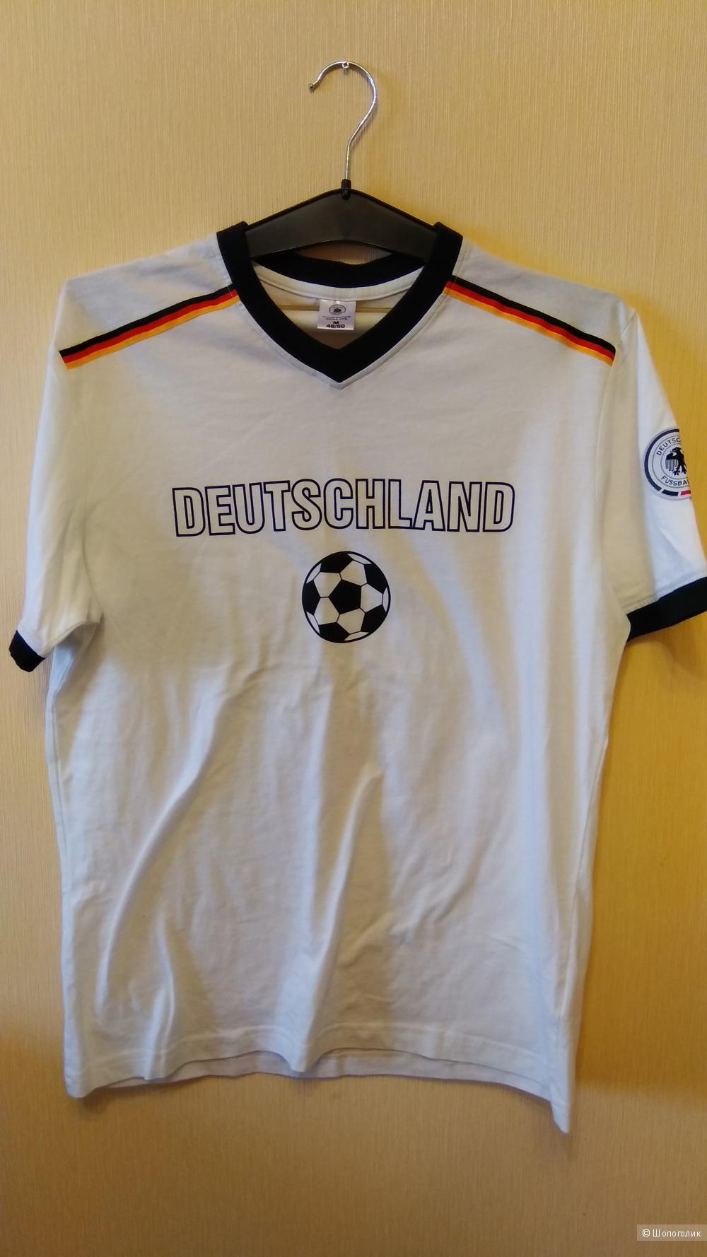 Футболка Die Mannschaft, размер M 48/50