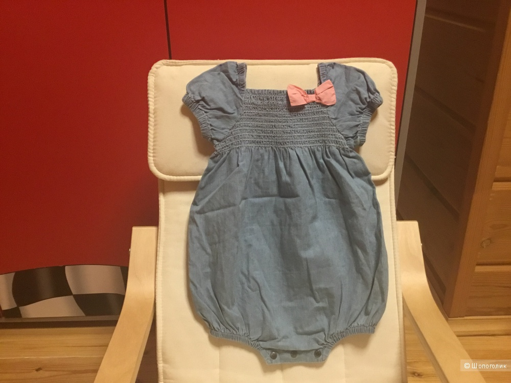 Платье-боди pumpkin patch 12-18 мес.