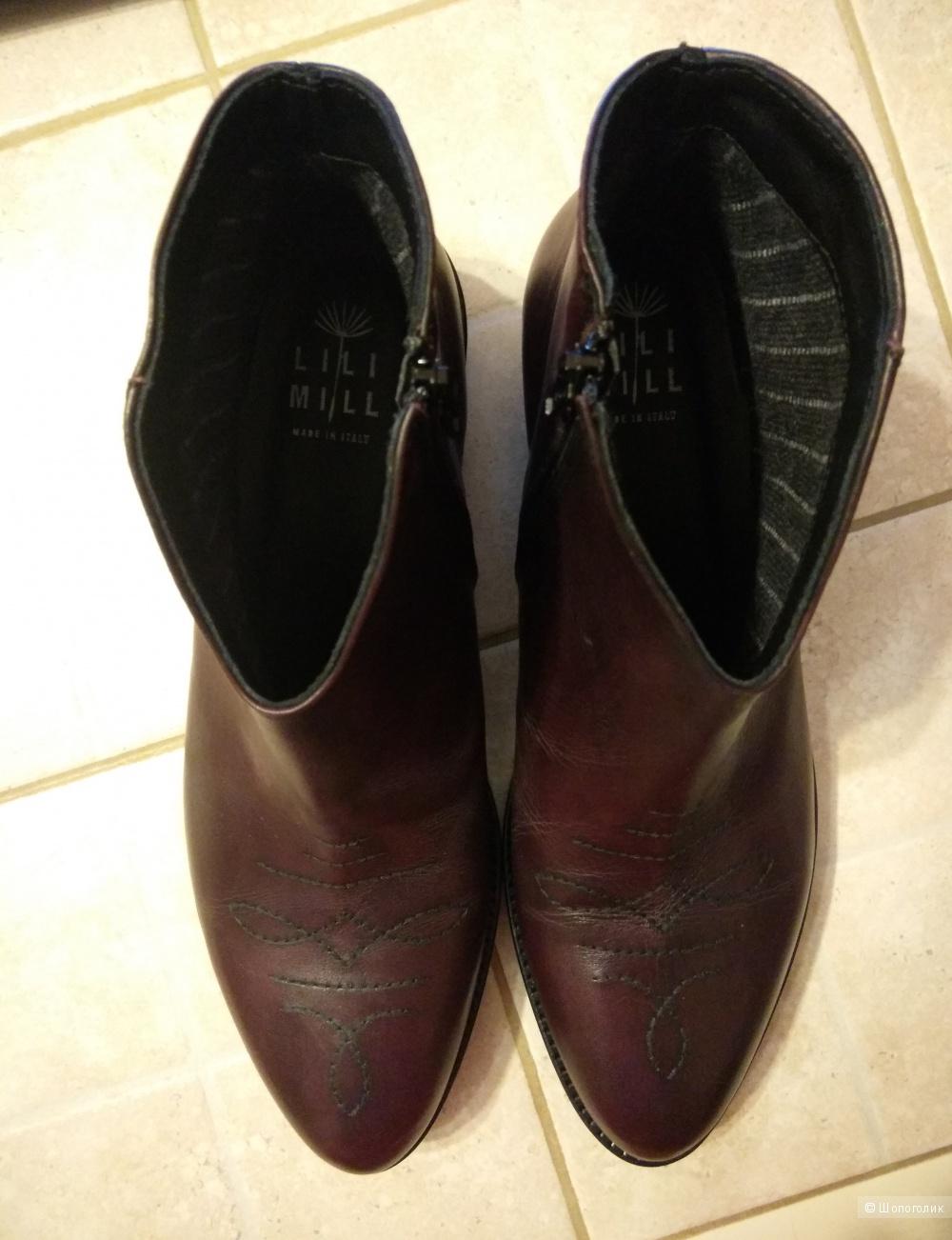 Ботинки-казаки LILIMILL, размер 40