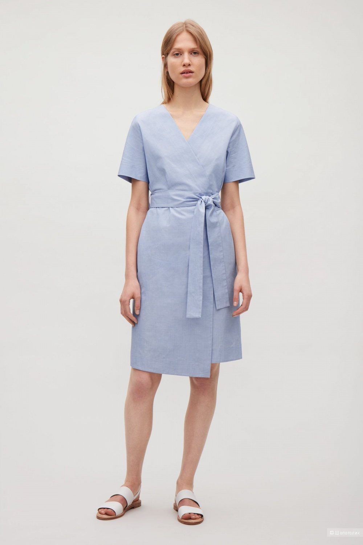Платье с запахом COS, марк. 42 (на 48р)