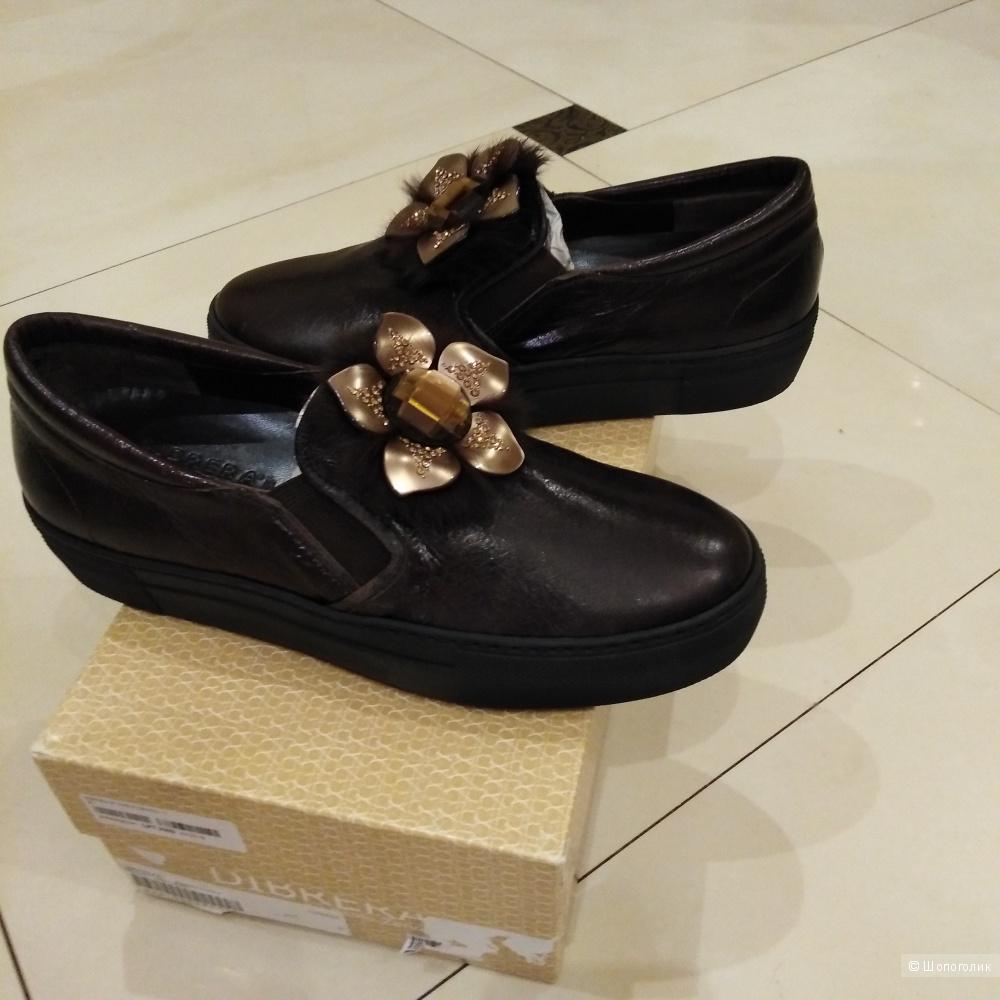 Ботинки  слипоны  DIBRERA BY PAOLO ZANOLI 39 размер