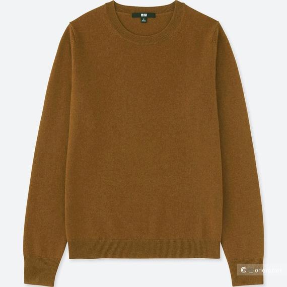 Кашемировый свитер Uniqlo S-М