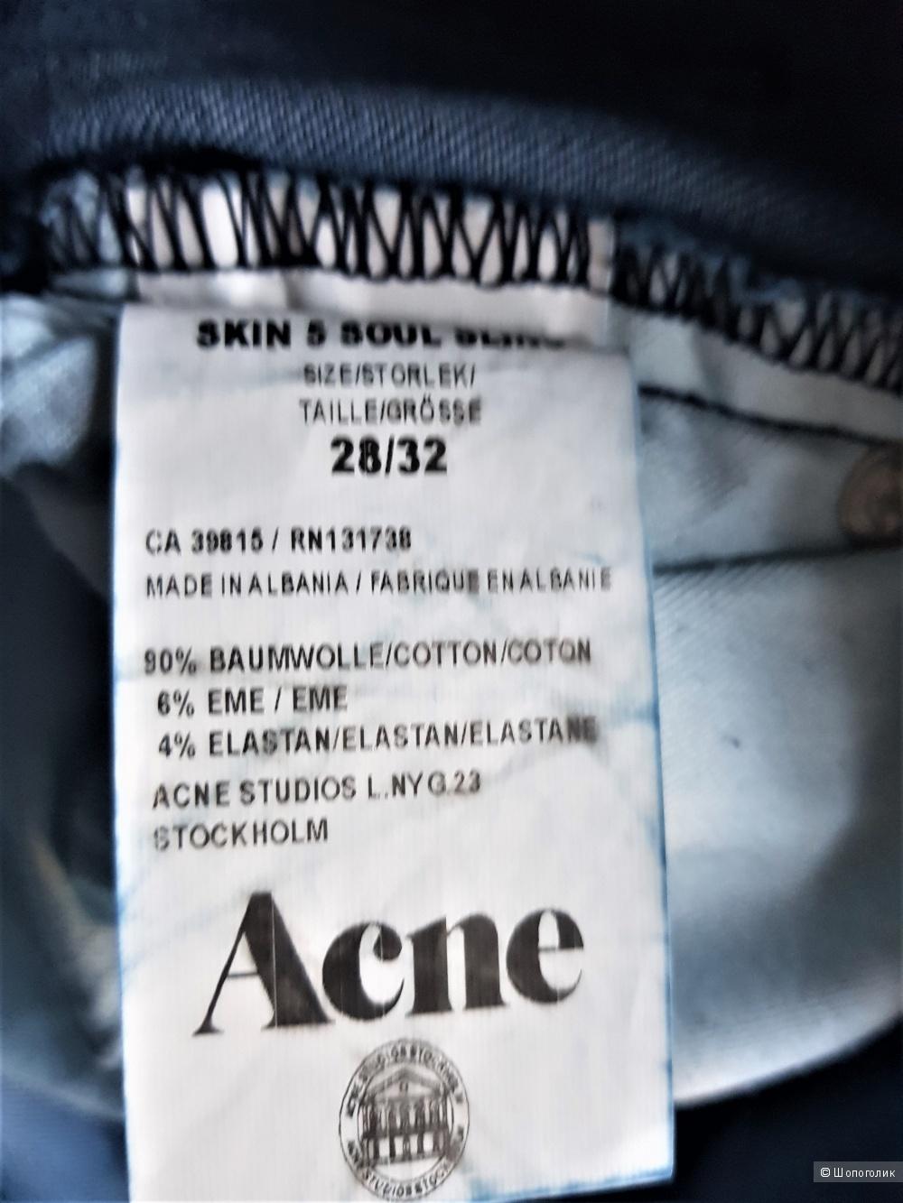 Джинсы ACNE Studio 28/32