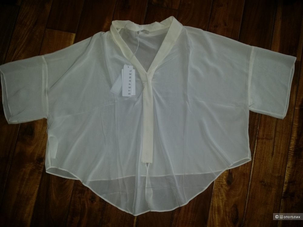Шелковая блуза Stefanel, М