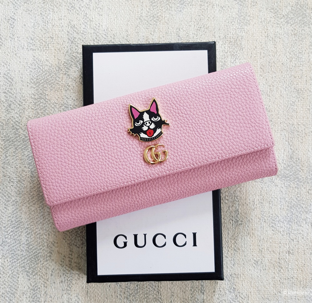 Кошелек Gucci (на кнопке)