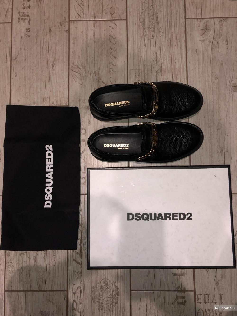 Кеды DSQUARED2 размер 39