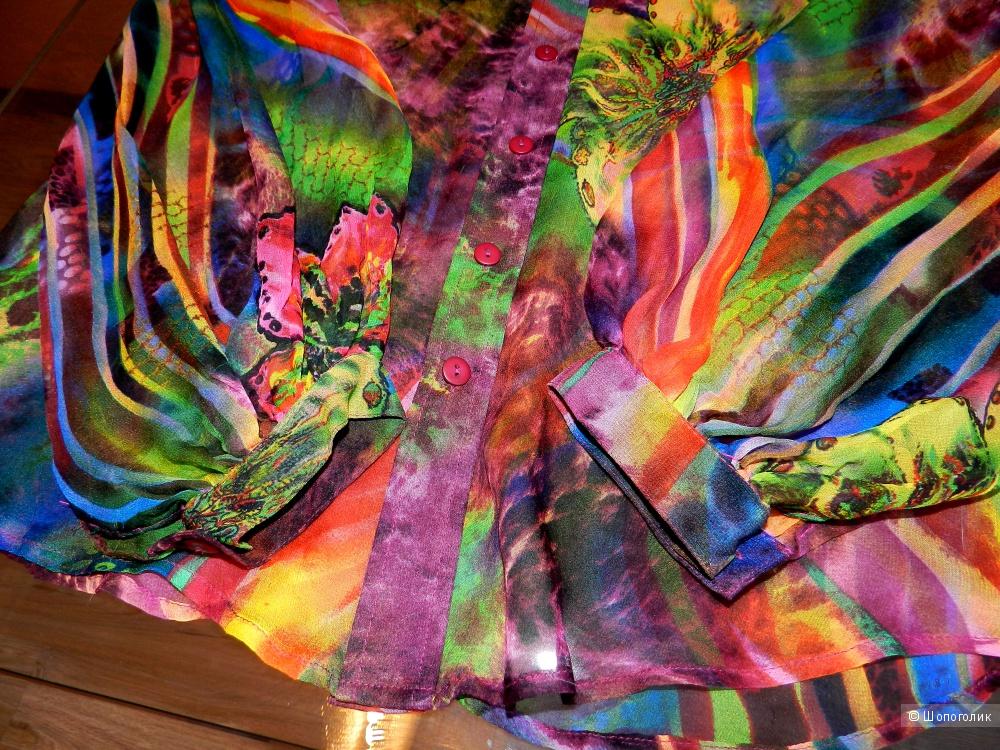 Блузка рубашка NOREEN PHILLIPS 48+-