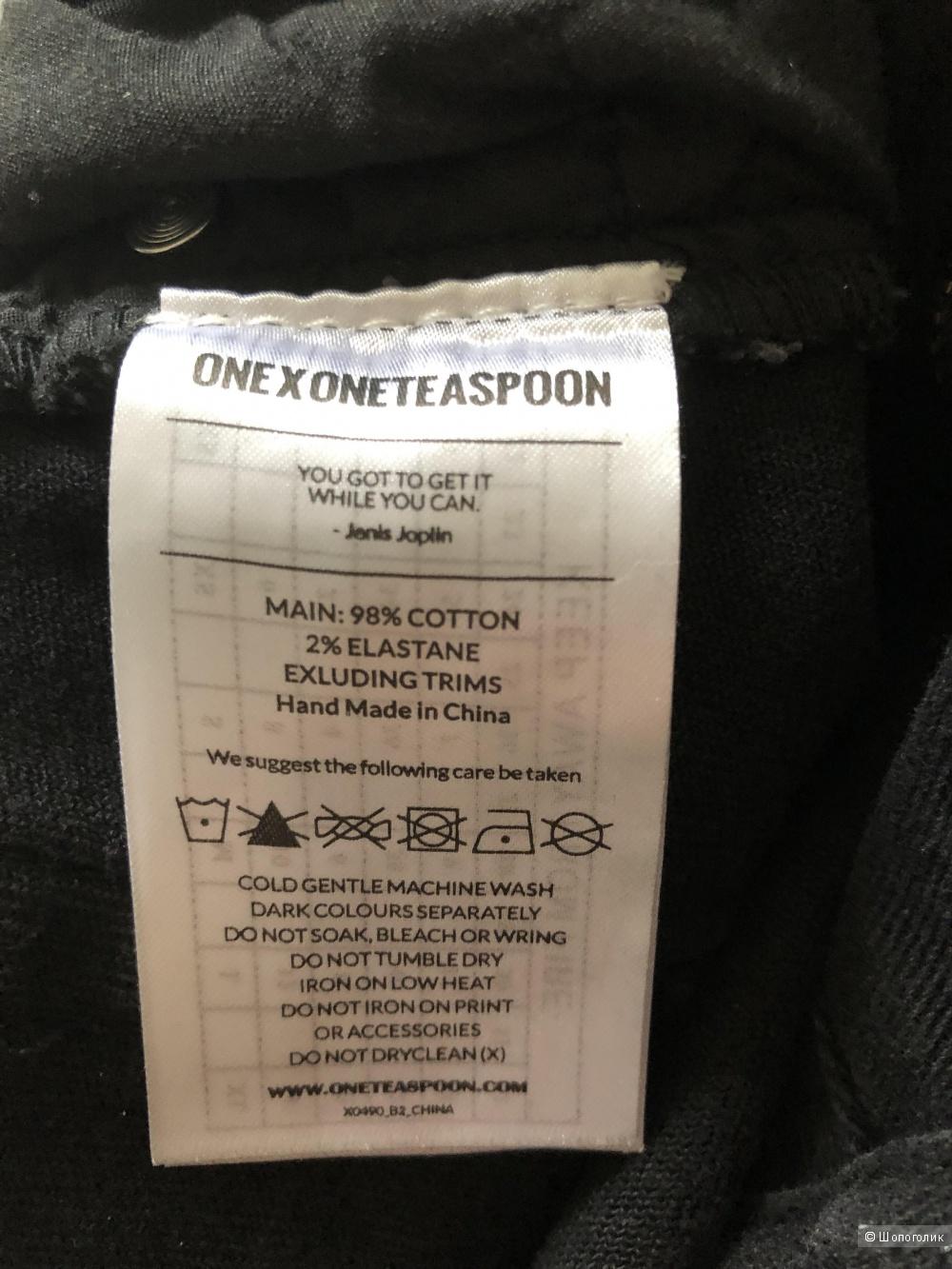 Джинсы ONE X ONETEASPOON р. 28 (маломерит)