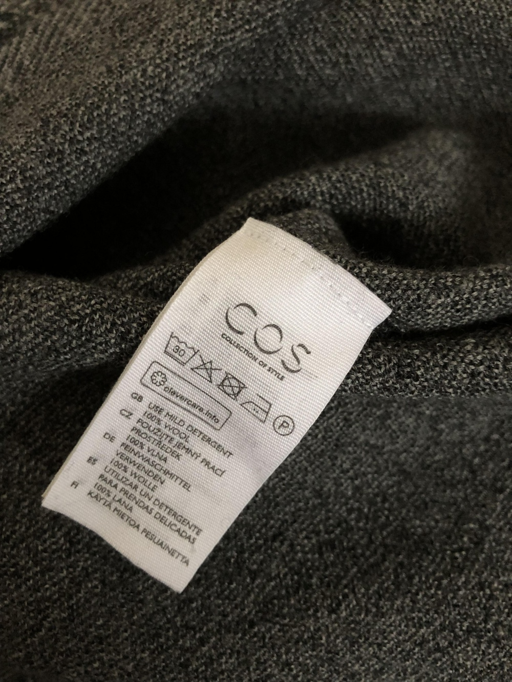 Шерстяное платье COS (S, RUS 42)