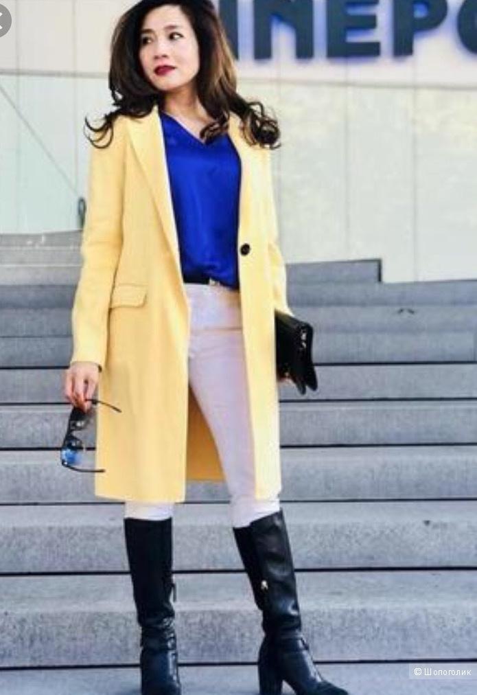 Пальто, Zara, размер 42-44-46