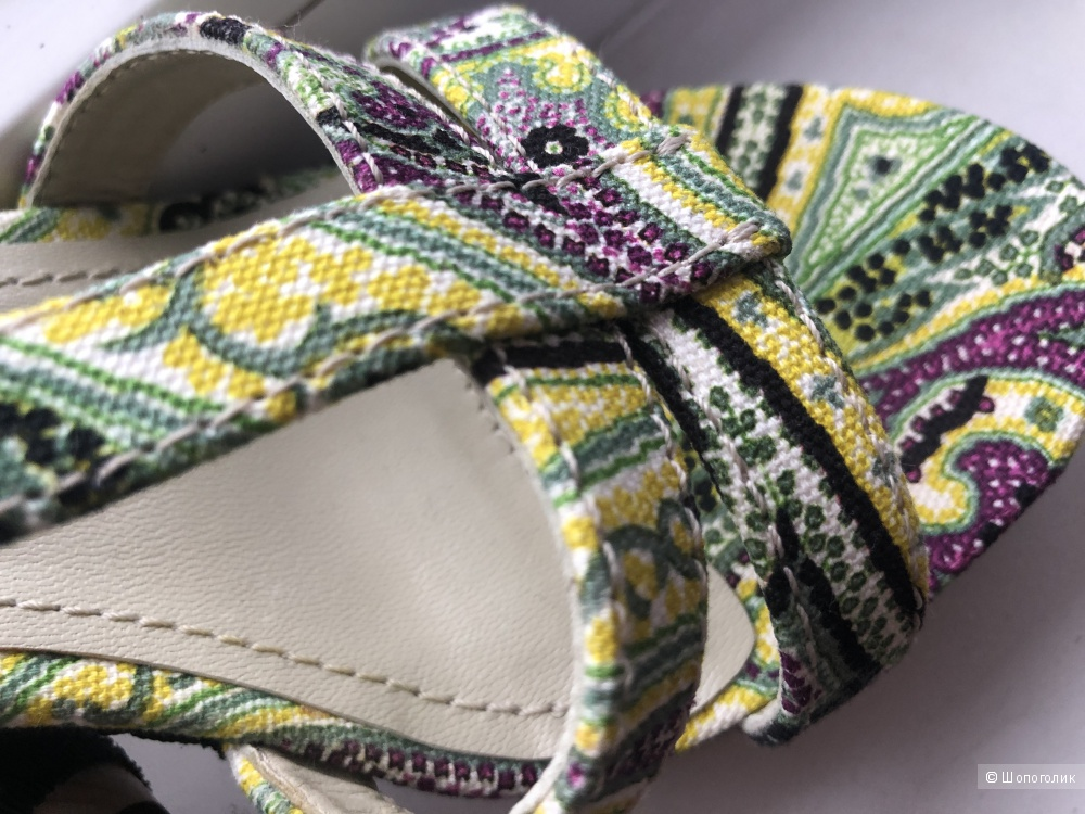 Туфли etro 39 размер