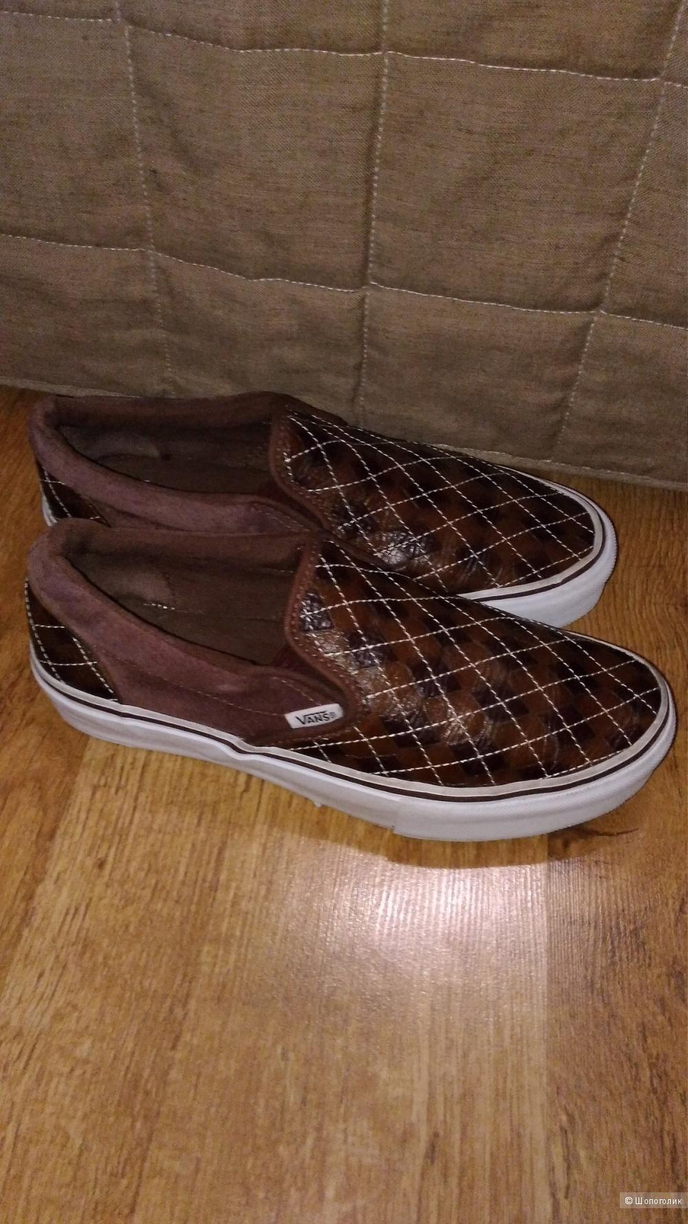 Кеды - туфли Vans р.38